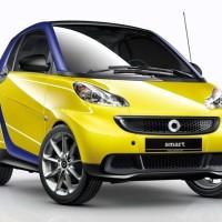 Smart Mobil Imut...Baru lihat Satu di Surabaya...!!!