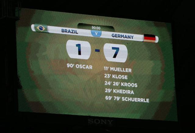 Brasil dipecundangi Jerman