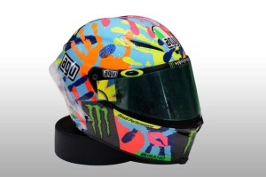 Helm Spesial Valentino Rossi Misano