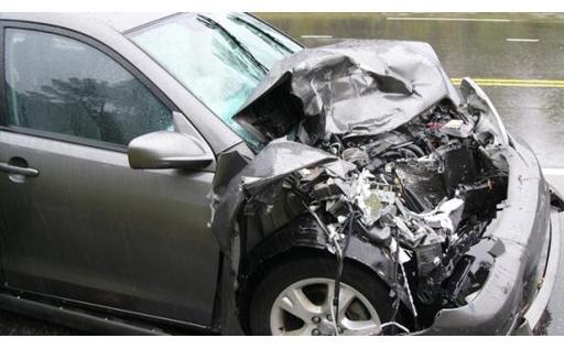 kecelakaan Honda jazz