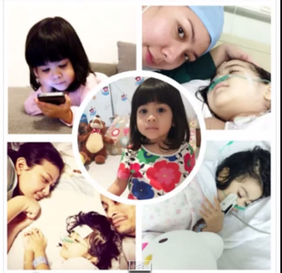 ashira shalva penderita kanker neuroblastoma