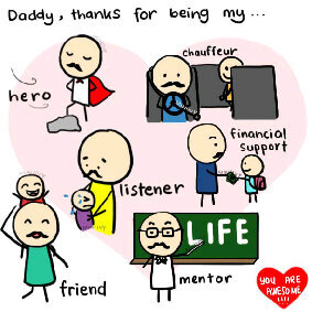 Hari Ayah di Logo Google Doodle Hari ini