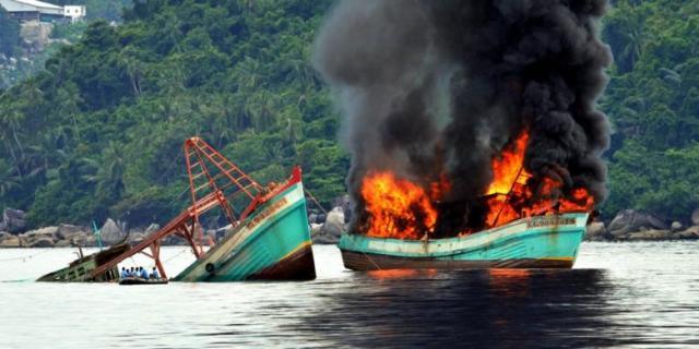 Menteri Susi Akan Tenggelamkan Kapal Lagi