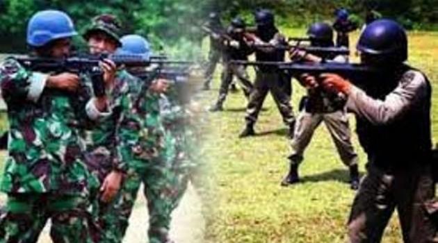 Oknum TNI dan Polri dulu saling tembak Kini Nyabu bareng jiann Koplak tenan...