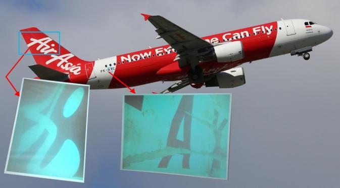 Ekor Pesawat AirAsia Berhasil Diangkat Tanpa Black Box