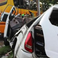 Kecelakaan Maut Di Banyuwangi Bus Setiawan VS Travel...5 Orang Tewas...