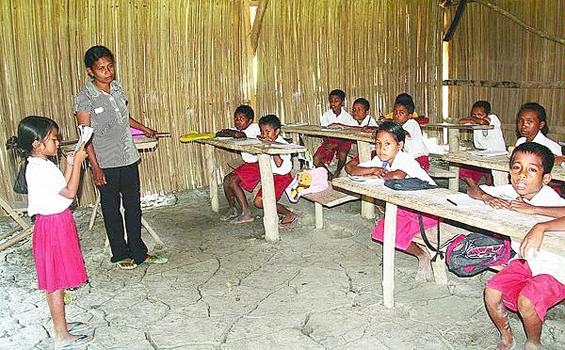 sekolah daerah pelosok