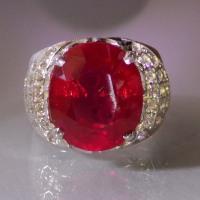 Batu Ruby Merah Myanmar/Burma Cantiknya Melegenda....