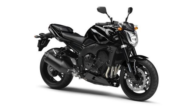 2013-Yamaha-FZ1 Black