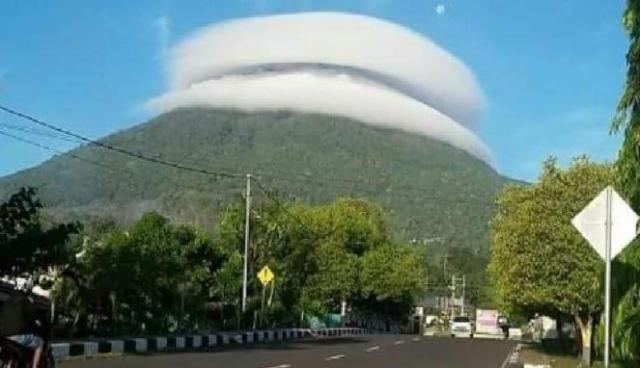 awan gunung tidore