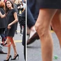 Angelina Jolie Berubah Menjadi Sangat Kurus..ada apa...???