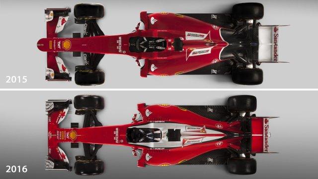 Inilah beda Ferrari 2015 dan 2016