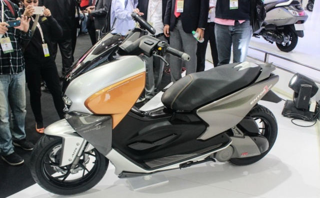 tvs entorq210 scooter concept