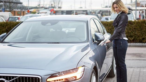 Volvo tanpa kunci