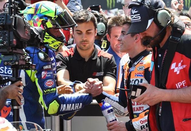Apakah perdamaian Rossi dan Marquez akan terus berlanjut
