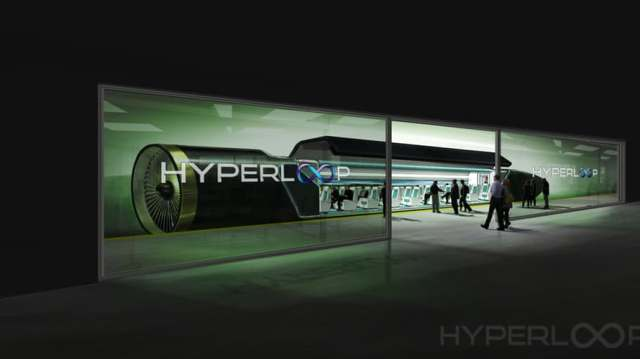 Hyperloop Rusia