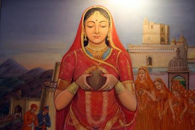 ilustrasi-wanita-india
