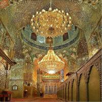Intip Keindahan Masjid Shah Cheragh Di Iran yukkk....kemilau bak berlian...