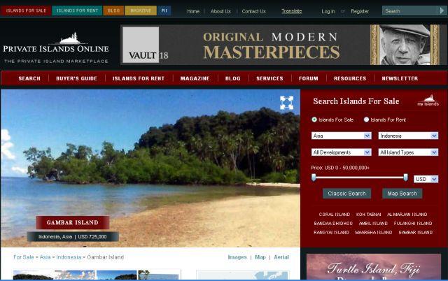 pulau-gambar-dijual