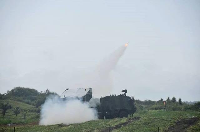 Uji Senjata Berat TNI Astros 2 MK 6 -2